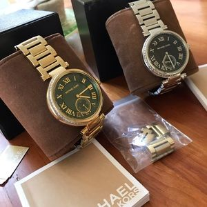 2 Michael Kors Skylar watches 🤩